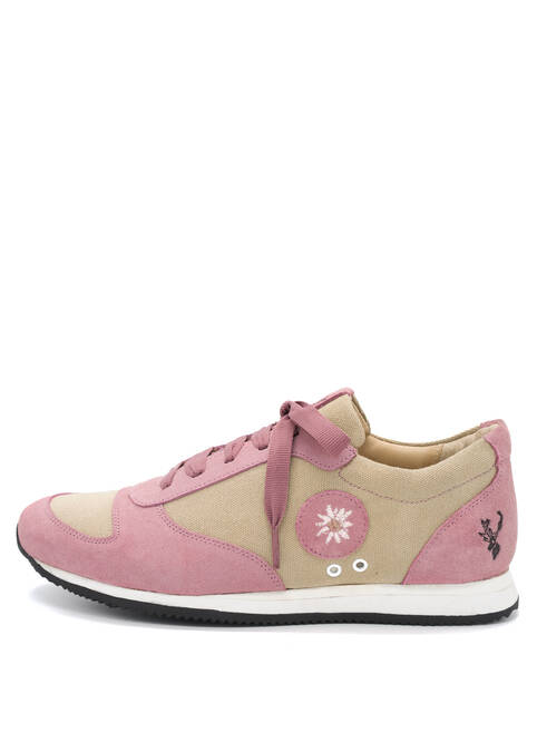 "Sneaker ""Lola"", Pink Frontansicht"
